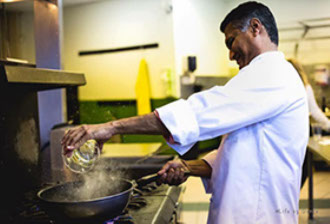 Hamir Patel, Executive Chef & Owner of Hamir's Indian Fusion